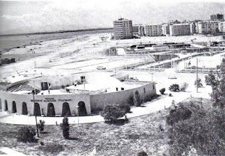 """Photo: Sonra """"Suat Taşer Tiyatrosu"""" oldu... Sahili doldurma çalışmaları hızla devam ediyor..."""