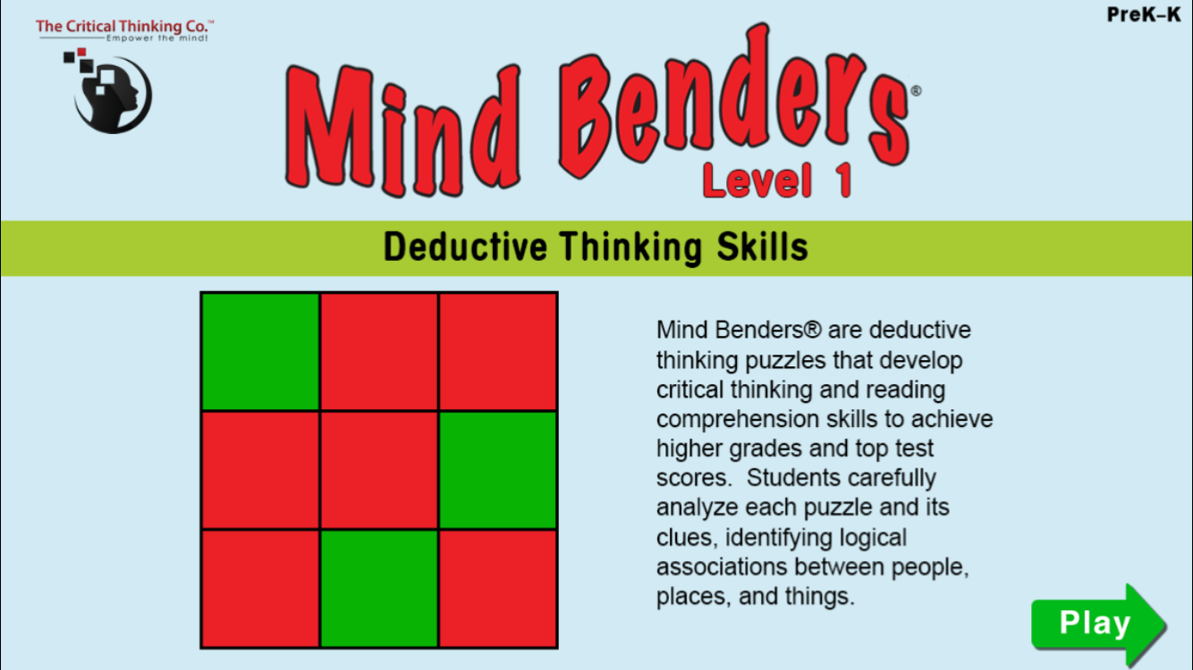 Mind Benders® Level 1- screenshot