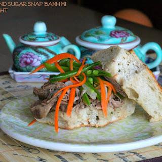 BBQ Pork Sugar Snap Banh Mi