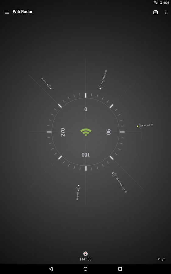 Wifi Radar- screenshot