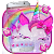 Girly Pink Unicorn Kitty Theme file APK for Gaming PC/PS3/PS4 Smart TV