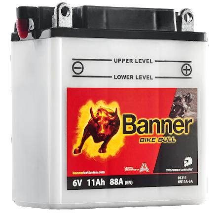 Banner Mc Batteri 6N11A-3A