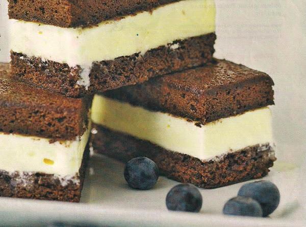 Brownie Ice Cream Sandwiches Recipe