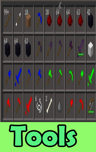 Tools MODS For MCPE