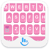 Pammee Pink Keyboard Theme