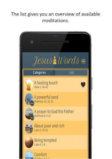 Jesus Words Meditation 1.280 screenshots 4