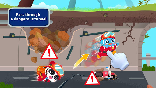 Screenshot for Little Panda's Earthquake Rescue in United States Play Store