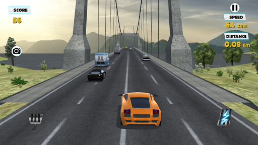 3D AUTOCAR運転:橋