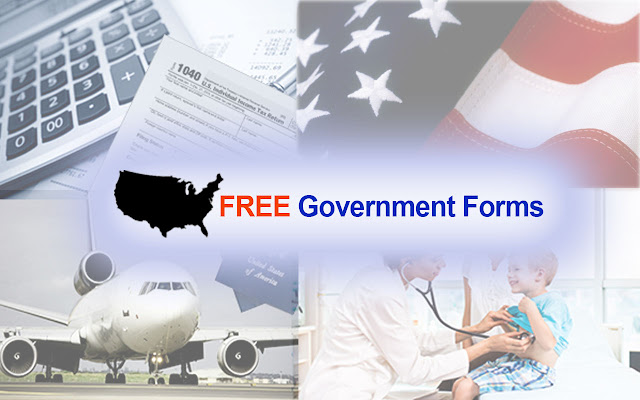Free Government Forms chrome extension