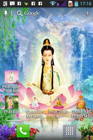 Guanyin Buddha live wallpaper