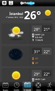 Android için NTV Hava – APK'yı Indir – 3