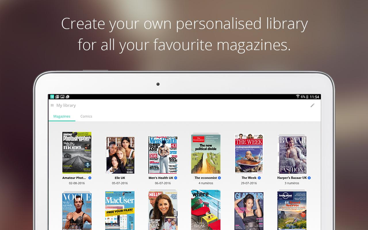 LeKiosk - newsstand magazines- screenshot