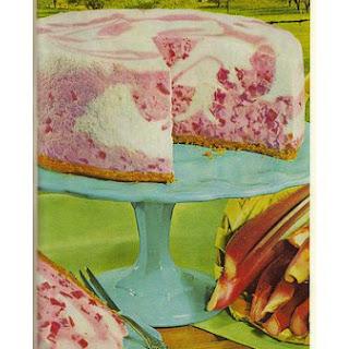 Strawberry Gelatin Cake.