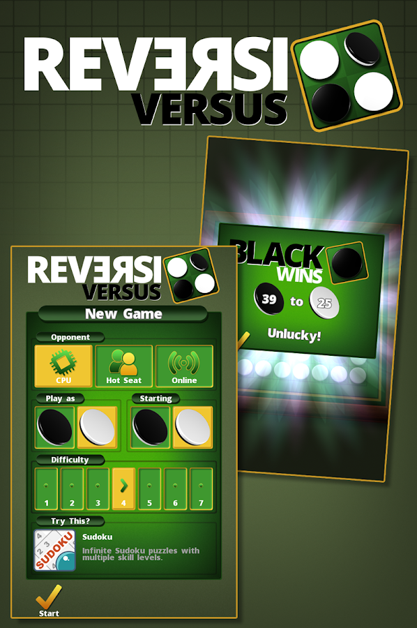 Reversi Versus- screenshot