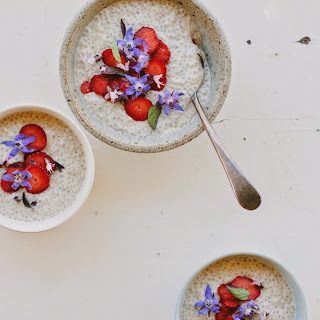Vanilla Chia Pudding.