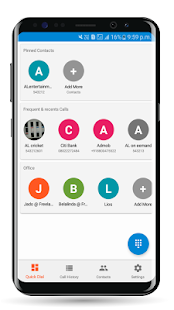 Smart Dialer - Call History & Stats - náhled