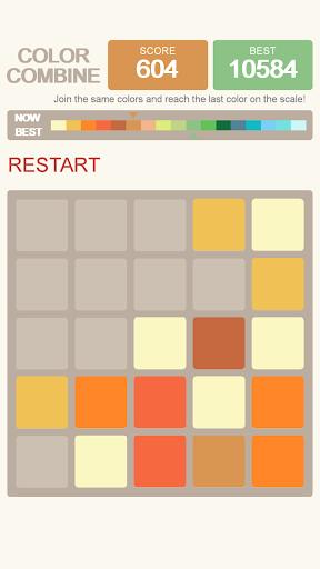 玩免費解謎APP 下載Color Combine 2048 app不用錢 硬是要APP