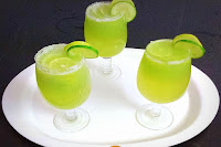 Ash Gourd and Cucumber Juice