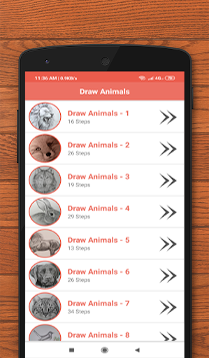 How to Draw Animals 7.0 screenshots 1
