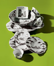 """Photo: JULISKA """"Country Estate"""" dinnerware collection featur- ing artwork by Deborah Sears from Isis Ceramics. Five-piece place setting. $164. Acces- sories. $22–$175. Portugal. Seventh Floor. 212 872 2686"""