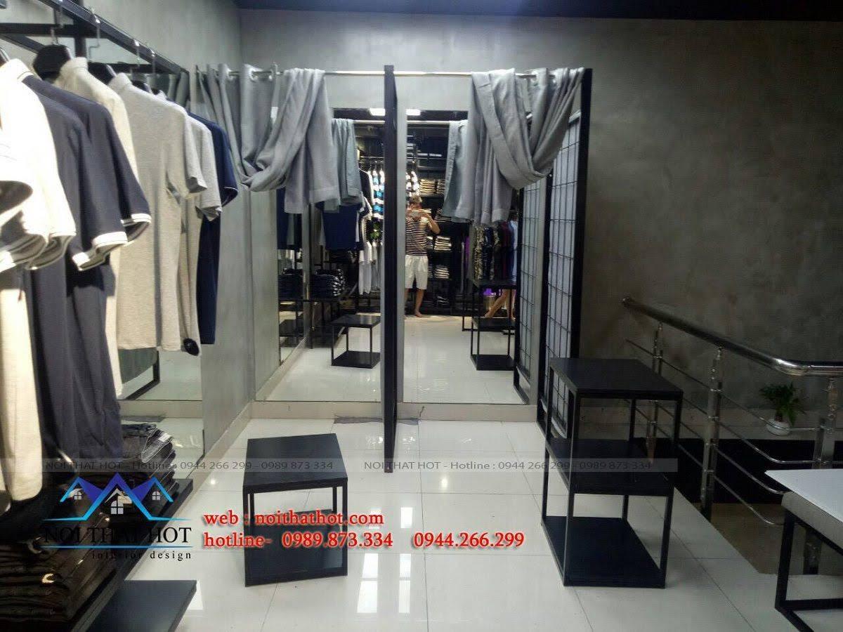thiết kế shop thời trang nam H2T 30