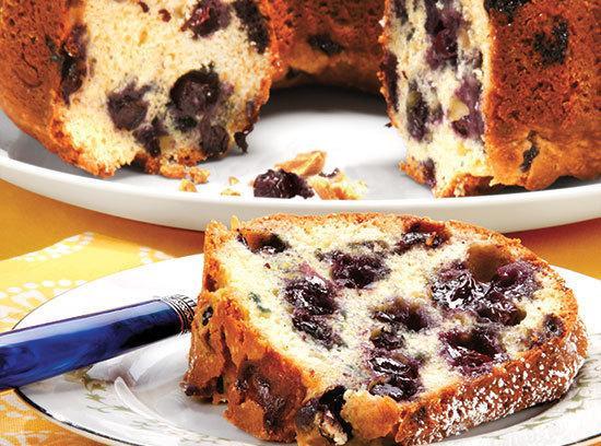 Blueberry Bundt Cake Recipe