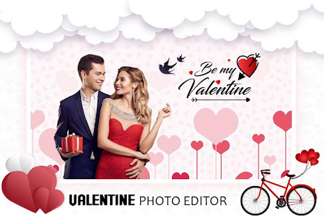 Download Valentine Photo Editor : Love Photo Frame 2020 For PC Windows and Mac apk screenshot 1