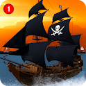 Caribbean Sea Outlaw Pirate Ship Battle 3D icon