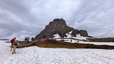 Photo: We drove to Logan Pass (Going to Sun Road) and hiked to Hidden Lake
