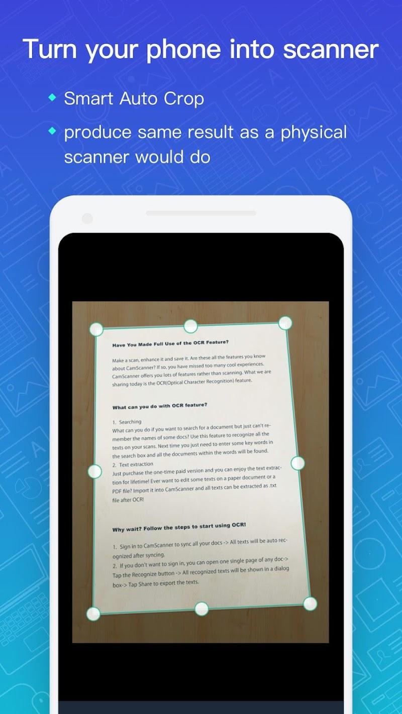 CamScanner - Scanner to scan PDF APK Cracked Free Download