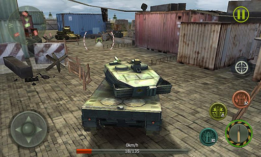 Tank Strike 3D - War Machines 1.5 screenshots 2