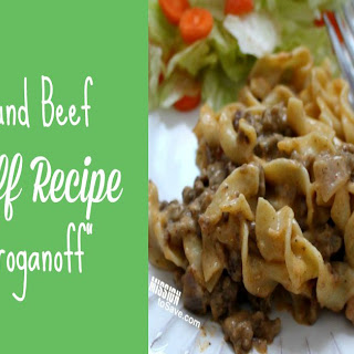 Meals With Ground Beef And Noodles Recipes