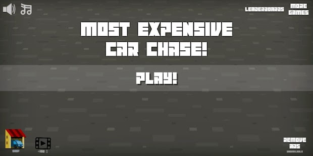 Most Expensive Car Chase Game Screenshot