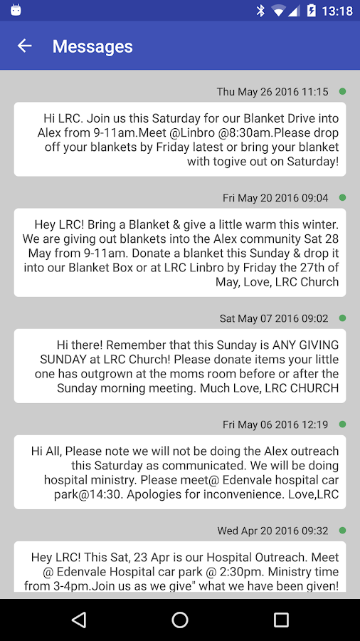 LRC Church- screenshot