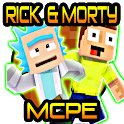 Rick & Morty + Space Cruiser Addon for MCPE icon