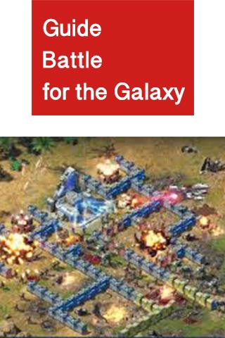 Guide Battle for the Galaxy