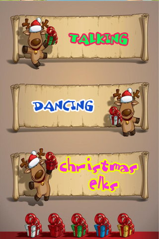 Talking Dancing Christmas Elk