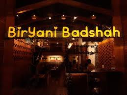 Biryani Badshah menu 1