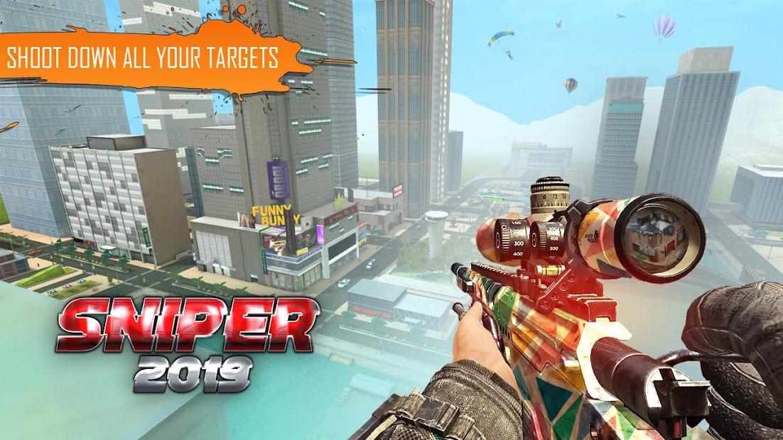 Sniper 3D - 2019 Android App Screenshot