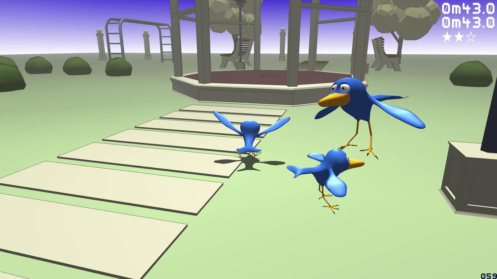 Racing Feathers- screenshot