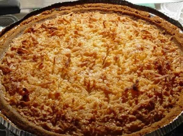 Grandmother's Coconut Pie Recipe