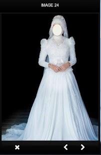 Hijab Wedding Dress Design - náhled