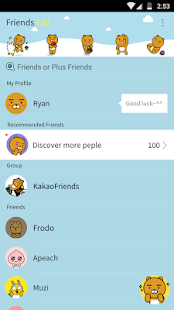 Ryan - KakaoTalk Theme - náhled