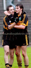 Photo: John Mc Guinness & David O Connor celebrate securing a Co Final Place v Kiltubrid, Co Semi Final 2008