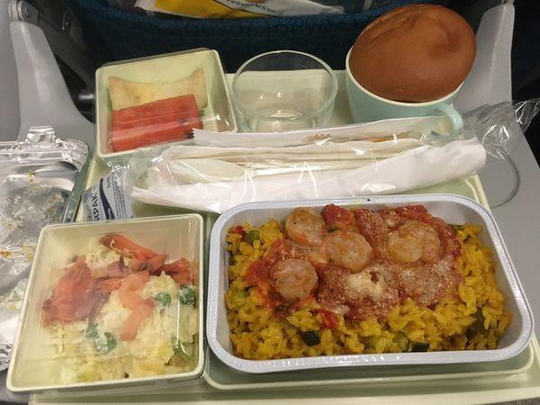 越南航空海鮮餐