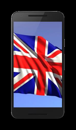 英国国旗ライブ壁紙