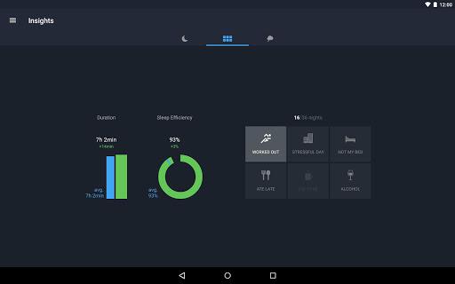 Runtastic Sleep Better: Sleep Cycle & Smart Alarm 2.6.1 screenshots 14