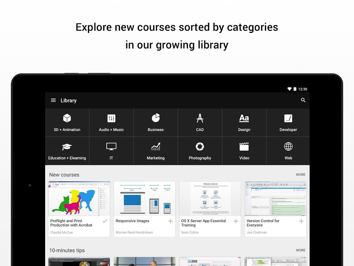 lynda.com- screenshot