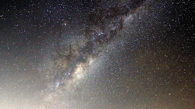 Photo: Milky Way in Scorpius. Canon 60D on tripod.