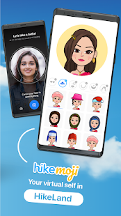 Hike Sticker Chat - Made in India Screenshot